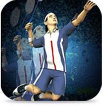 Portada oficial de Super Badminton para iPhone