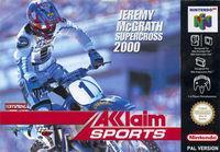 Portada oficial de Jeremy McGrath Supercross 2000 para Nintendo 64