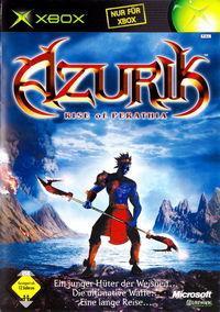 Portada oficial de Azurik: Rise of Perathia para Xbox
