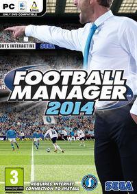Portada oficial de Football Manager 2014 para PC