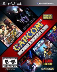 Portada oficial de Capcom Essentials para PS3