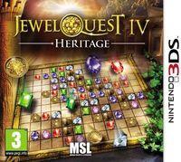 Portada oficial de Jewel Quest 4 - Heritage eShop para Nintendo 3DS