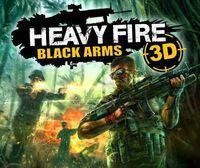 Portada oficial de Heavy Fire: Black Arms 3D eShop para Nintendo 3DS