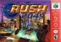 Portada oficial de San Francisco Rush 2049 para Nintendo 64