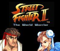 Portada oficial de Street Fighter II: The World Warrior CV para Wii U