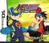 Portada oficial de MegaMan EXE para Game Boy Advance