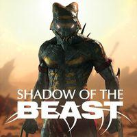 Portada oficial de Shadow of the Beast para PS4