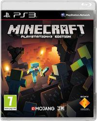 Portada oficial de Minecraft PlayStation 3 Edition para PS3