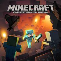 Portada oficial de Minecraft PlayStation Vita Edition para PSVITA