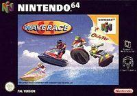 Portada oficial de Wave Race 64 para Nintendo 64