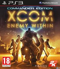 Portada oficial de XCOM: Enemy Within para PS3