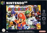 Portada oficial de Mario Party 3 para Nintendo 64