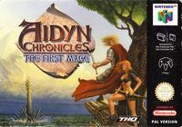 Portada oficial de Aydin Chronicles: The First Mage para Nintendo 64