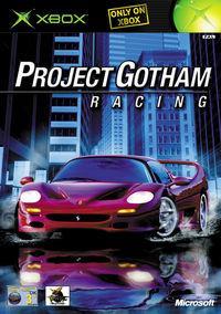Portada oficial de Project Gotham Racing para Xbox