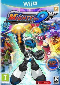 Portada oficial de Mighty No. 9 para Wii U
