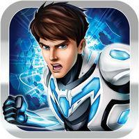 Portada oficial de Max Steel para iPhone