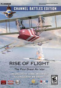 Portada oficial de Rise of Flight: Channel Battles Edition para PC