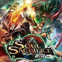 Portada oficial de Soul Sacrifice Delta PSN para PSVITA