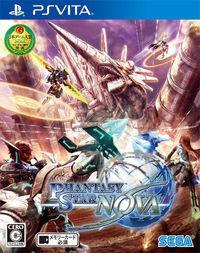 Portada oficial de Phantasy Star Nova para PSVITA