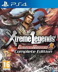 Portada oficial de Dynasty Warriors 8: Xtreme Legends para PS4