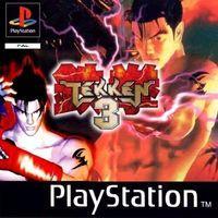 Portada oficial de Tekken 3 para PS One
