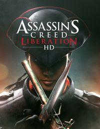 Portada oficial de Assassin's Creed Liberation HD XBLA para Xbox 360