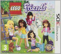 Portada oficial de LEGO Friends para Nintendo 3DS