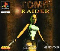 Portada oficial de Tomb Raider para PS One