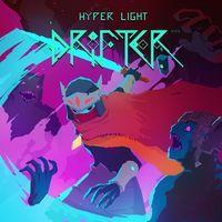 Portada oficial de Hyper Light Drifter para PS4