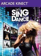 Portada oficial de de Let's Sing and Dance XBLA para Xbox 360