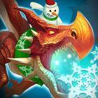 Portada oficial de de Dragons of Atlantis: Los Herederos del Dragón para iPhone