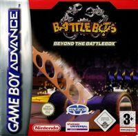 Portada oficial de Battlebots para Game Boy Advance