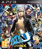 Portada oficial de de Persona 4 Arena Ultimax para PS3