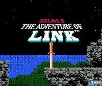 Portada oficial de Zelda II: The Adventure of Link CV para Wii U