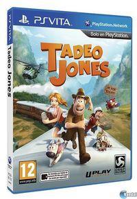 Portada oficial de Tadeo Jones: El Videojuego para PSVITA