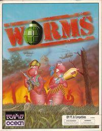 Portada oficial de Worms para PC