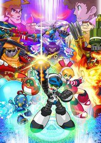 Portada oficial de Mighty No. 9 PSN para PS3