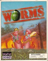 Portada oficial de Worms 2 para PC