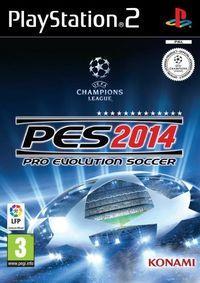 Portada oficial de Pro Evolution Soccer 2014 para PS2