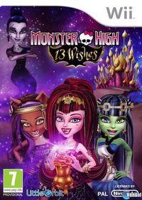 Portada oficial de Monster High 13 Monstruo Deseos para Wii