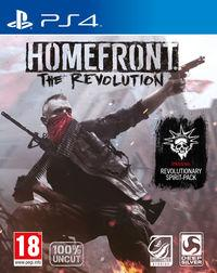Portada oficial de Homefront: The Revolution para PS4