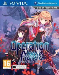Portada oficial de Operation Abyss: New Tokyo Legacy para PSVITA