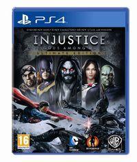 Portada oficial de Injustice: Gods Among Us Ultimate Edition para PS4