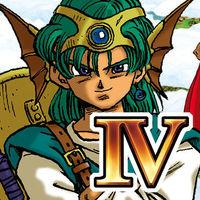Portada oficial de Dragon Quest IV Chapters of the Chosen para iPhone