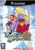 Portada oficial de de Tales of Symphonia para GameCube