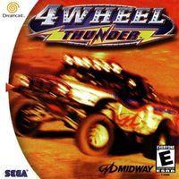 Portada oficial de 4 Wheel Thunder para Dreamcast
