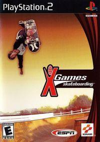 Portada oficial de ESPN X Games Skateboarding para PS2