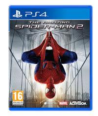 Portada oficial de The Amazing Spider-Man 2 para PS4