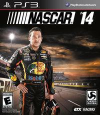 Portada oficial de NASCAR '14 para PS3
