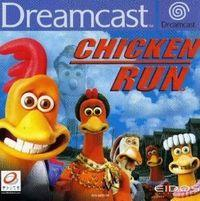 Portada oficial de Chicken Run para Dreamcast